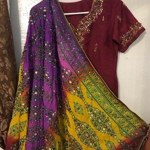 Dresses & Skirts - Bridal dress Pakistani Indian kamiz salwar 3pcs